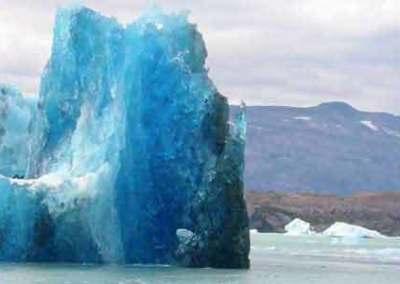Eisberg, Lago Argentino, Südpatagonien, Argentinien