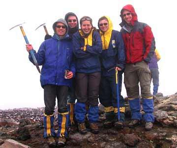 Geschafft ! Aufstieg auf Vulkan Villarica, 2874m ü.M., Chile
