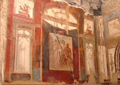 Fresco, Herkulaneum