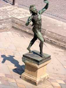 Faun, Villa der Mysterien, Pompeji