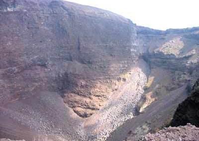 Krater des Vesuv, Neapel