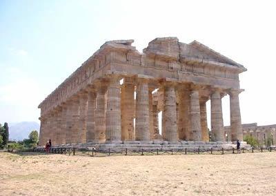 Paestum, griech. Siedlung 700 v. Chr.